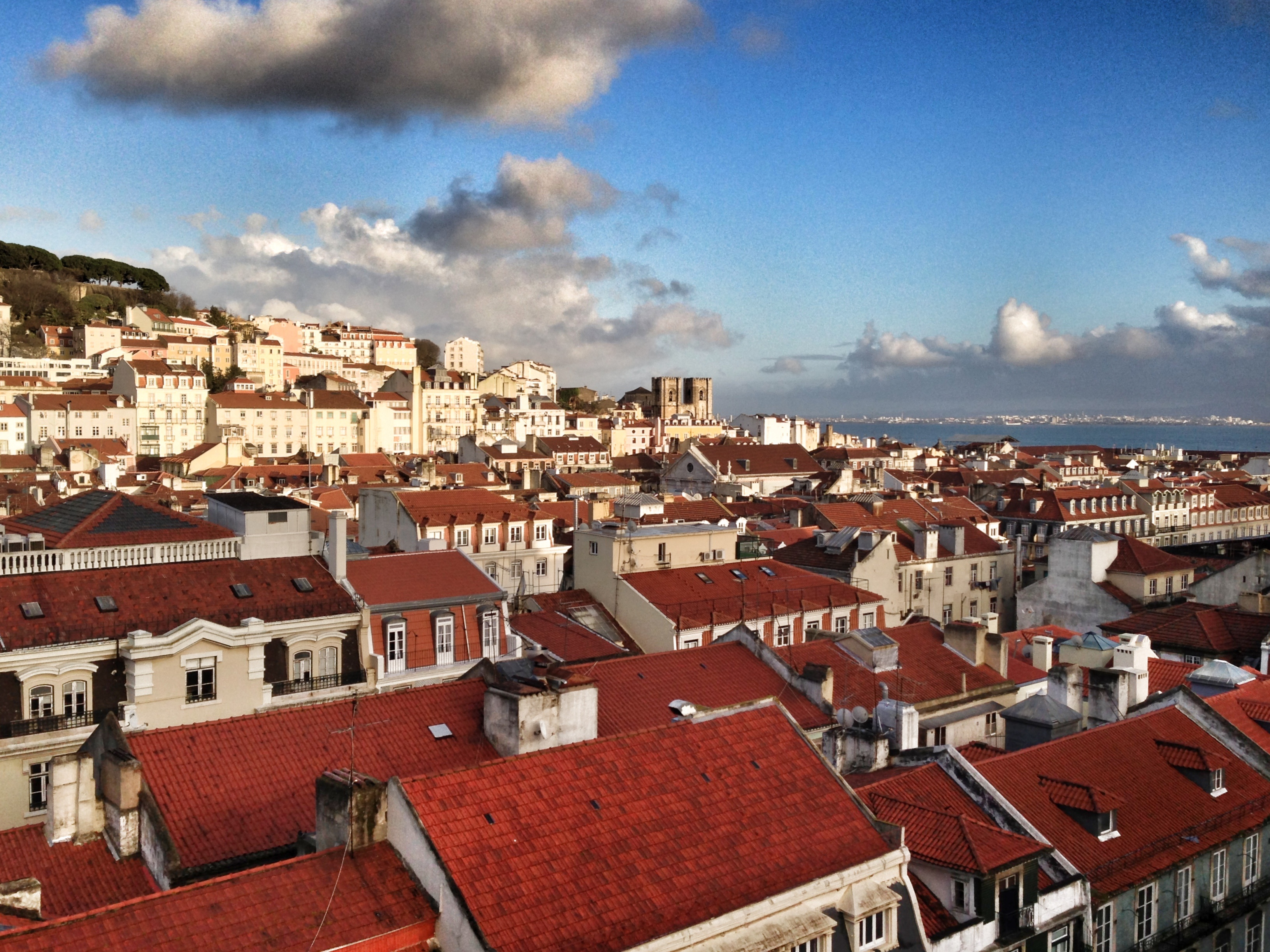 Red Rooftops of Lisboa