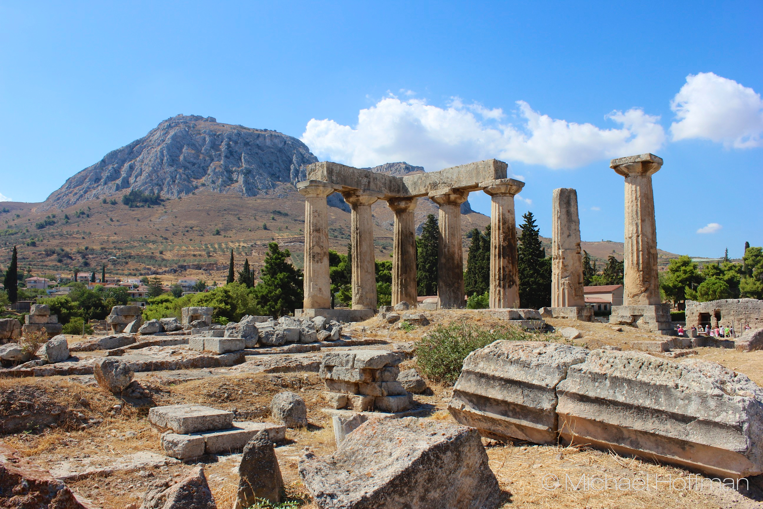 Greek Series: Acrocorinth and Mycenae  Photography