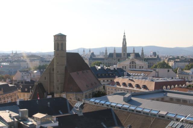 vienna, panorama, skyline