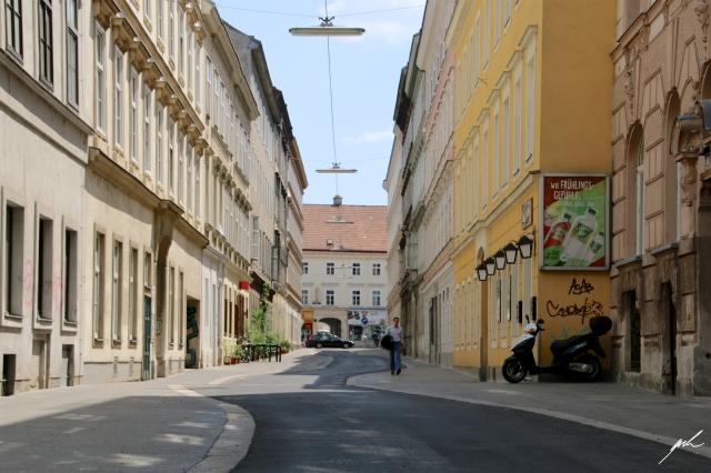 street in vienna
